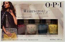 OPI NAIL POLISH WASHINGTON DC COLLECTION MINI SET 3.75ml W56 W53 W57 W64 KERRY