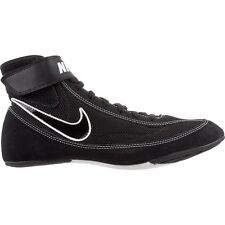 Nike  366683 001 Black White  Speed Sweep VII Wrestling Shoes size 7