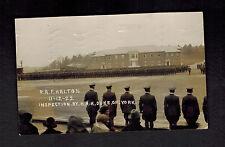 1923 England Postcard Cover Royal Air Force Raf Halton Camp Inspection Duke York