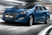 Genuine Hyundai i30,Door visor,Weathershield made in KOREA,set of 4 for 2013-16