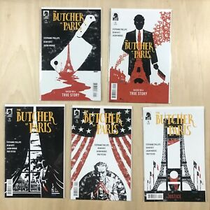 The Butcher of Paris 1 2 3 4 5 Complete Dark Horse Comics (first printings)