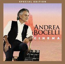 Cinema by Andrea Bocelli (CD, Apr-2016, 2 Discs, Decca)