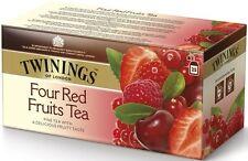 Twinings Of London Four Red Fruits Tea 1pcs. 50g (25 Tea bags)