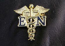 EN ENROLLED NURSE MEDICAL GOLD LOGO LAPEL PIN Badge Metal Emblem *NEW*