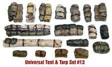 1/35 Scale Resin kit Tents & Tarps Set  #13 - tank or vehicle stowage, dioramas