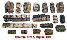 1/35 Escala Kit de Resina Tiendas & Tarps Set #13 - Tanque o Vehículo Estiba,