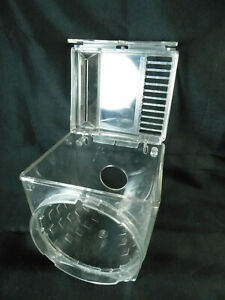 Popeil Pasta Maker Replacement Parts CLEAR MIXING BOWL & LID P400