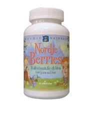 Nordic Berries, Multivitamin Treats, 120 Gummy Berries - Nordic Naturals