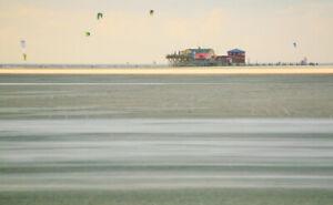 Strand_St. Peter Ording, Bild 3, hochwertiger Fotodruck DIN A4