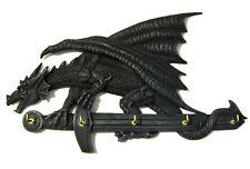 Schlüsselbrett Drachen 5 Haken ca. 28cm Gothic Deko
