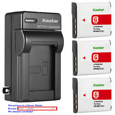 Kastar Battery Wall Charger for Sony NP-BG1 NP-FG1 & Sony Cyber-shot DSC-W80