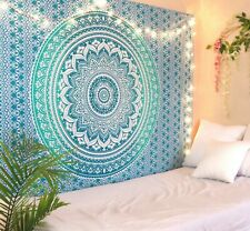 Wall Art Hippie Tapestries Mandala Tapestry Wall Hanging Gold Throw Dorm Decor