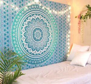 Wall Art Hippie Tapestries Mandala Tapestry Wall Hanging Gold Throw Dorm Decor