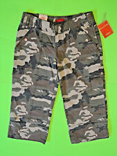MOSSIMO {Size 5} Junior's Camo Cropped Straight Ultra Low Capri Jeans NWT!