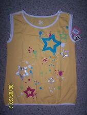 NWT's Girls So Tank Top Shirt Size Large 12 100% Cotton Yellow Multi