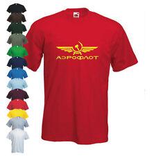 AEROFLOT retro frío war URSS comunista camiseta molona