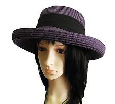 new Summer Fashion  Women church paper straw Hat Bowler Derby floppy fedora cap