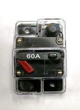 CB60 Shakespeare Comp. Electric Trolling Motor 60Amp Fuse Marine Circuit Breaker