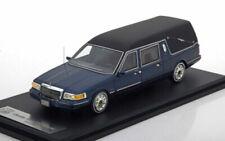 Corbillards miniatures bleus cars