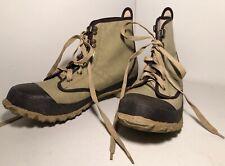 Ankle Boots Waterproof HODGMAN Men Size 10 CASTER BEIGE FLY FISHING RIVER STREAM