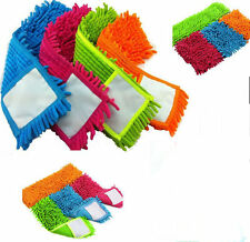 New Microfibre Floor Cleaning Mop Cloth Wet Dry floors Random Colour
