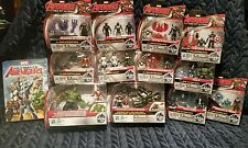 Marvel Avengers Age of Ultron 2.5 inch Figures Lot of 12 packages Plus DVD, NEW!