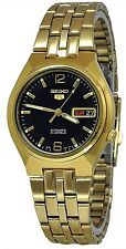 Seiko 5 SNKL64 Men's Gold Tone Stainless Steel Gold Dial Automatic Watch