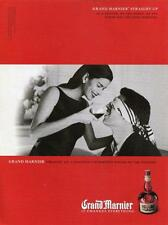 GRAND MARNIER MAGAZINE PRINT AD GRAND MARNIER CHANGES EVERYTHING MAN BLIND FOLD