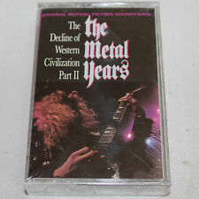 Decline Of Western Civilization II Metal Years '88 Soundtrack OST Cassette Tape