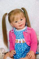 CUSTOM ORDER Reborn Doll Baby Girl Toddler Katie Marie by Ann Timmerman