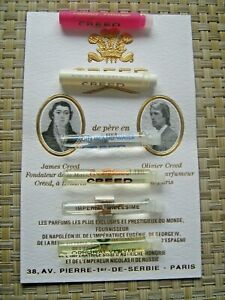 CREED Luxury sample vial without card 2,5ml /0,08oz Choose + L'Artisan