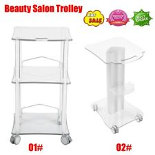 Assembled Beauty Spa Trolley Styling Pedestal Rolling Cart Tray For Cavitation
