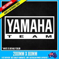 YAMAHA Team Sticker JDM DRIFT Vinyl Funny Dope Window Laptop Motorcycle