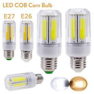 COB LED Corn Bulb E27 E26 Bright Energy Saving Light 60W 80W Incandescent Lamp