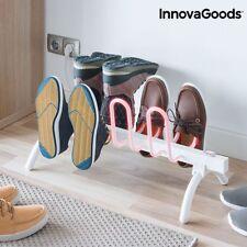 Elektrischer Schuhtrockner für 4 Paar Schuhe Schuhständer Schuhregal