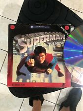 Superman - The Movie - Laserdisc  Buy 6 For Free Shipping