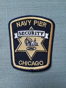 Navy Pier Security Chicago Illinois Police Sheriff Patch