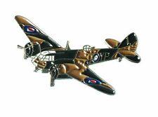 NEW WW2 Bristol Blenheim RAF Aircraft Military Metal Enaml Badge Royal Air Force