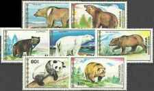 Timbres Animaux Ours Mongolie 1650/6 ** (37824A)