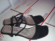 Bebe Vintage Sandals, Black 8.5