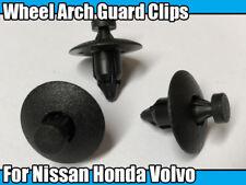 10x Wheel Arch Lining Splashguard Bumper Clips For Nissan Primera X-Trail