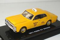 1:64 FORD FALCON XY YELLOW CABS TAXI - DISPLAY CASE