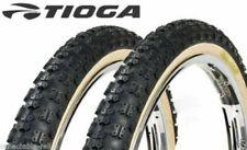 Tioga Comp 3 III old school BMX skinwall gum wall tires 20x 1.75 20x/2.125 PAIR