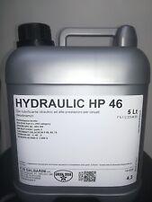 Tanichetta 5lt olio idraulico alte prestazioni per circuiti oleodinamici HP 46