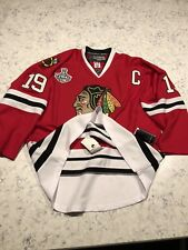 JONATHAN TOEWS CHICAGO BLACKHAWKS 2010 STANLEY CUP EDGE AUTHENTIC RBK JERSEY  54 2d44787e5