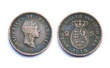 2 Skilling 1810. Danemark. Frederik VI°. Cuivre/Copper