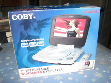 "Coby 7"" TFT Portable Widescreen DVD Player - TF-DVD7005 Brand New!"