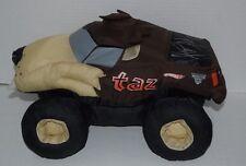 TAZ Tazmanian Devil Plush Nylon Looney-Tunes Hot Wheels Monster Jam signed