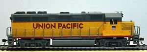 BACHMANN HO Scale GP40 UNION PACIFIC Diesel Locomotive Unnumbered; DCC Ready