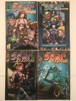 Gear Station Comic Bundle #1 #2 #3 #4 (#1 Frag Stucker Variant) Image Comics (22
